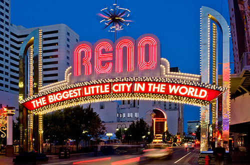 Welcome to Reno Sign